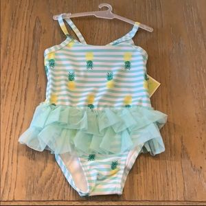 NEW! Baby Pineapple Bathing Suit Size 6-9M